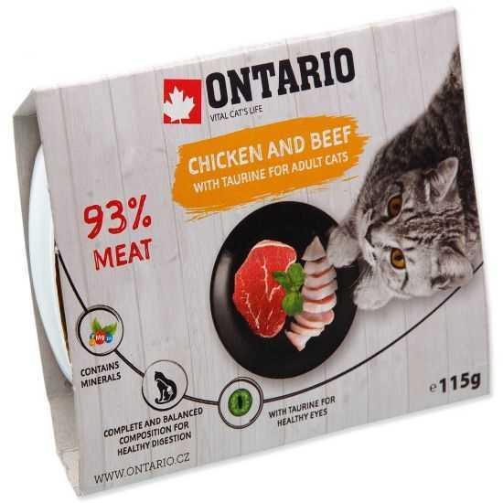 ONTARIO tray Chicken & Beef...