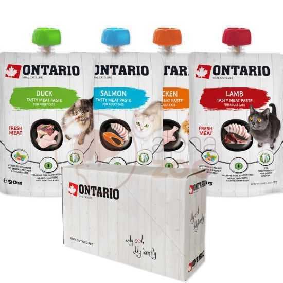 ONTARIO konservų katėms rinkinys 4...