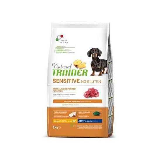 Trainer Sensitive Adult Mini No Gluten LAMB sausas maistas šunims (Ėriena)