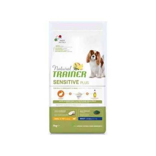 Trainer Sensitive Plus Adult Mini RABBIT sausas maistas šunims (Triušiena)