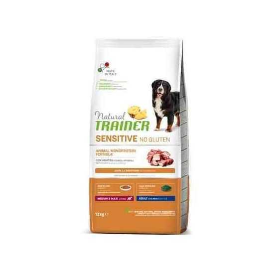 Trainer Sensitive Adult M/M No Gluten DUCK sausas maistas šunims (Antiena)