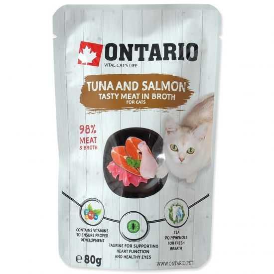 ONTARIO Tuna & Salmon - konservai...