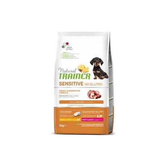 Trainer Sensitive PUPPY Mini No Gluten DUCK sausas maistas jauniems šunims  (Antiena)