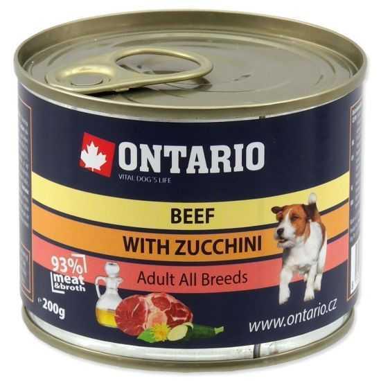 ONTARIO Beef, Zucchini, Dandelion And...