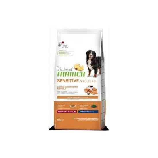 Trainer Sensitive Adult M/M No Gluten SALMON sausas maistas šunims (Lašiša)