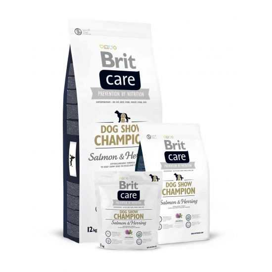 Brit Care Dog Show Champion sausas maistas šunims 3kg 12kg