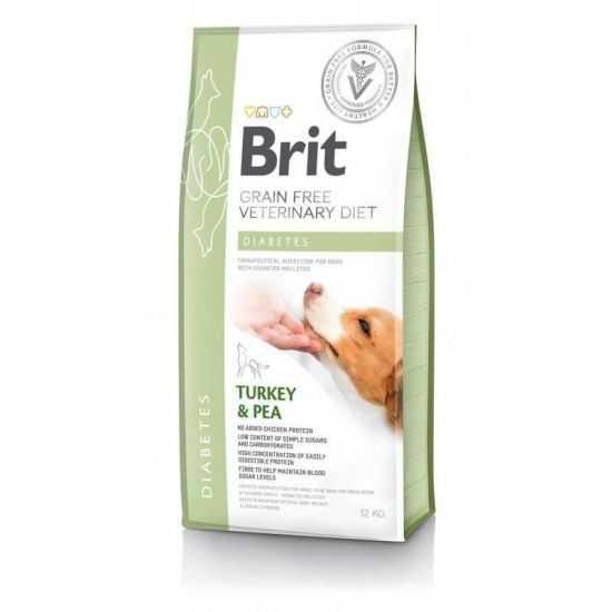Brit Veterinary Diets Diabetes sausas...