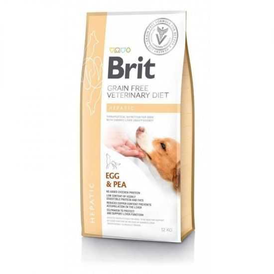 Brit GF Veterinary Diets Dog Hepatic...