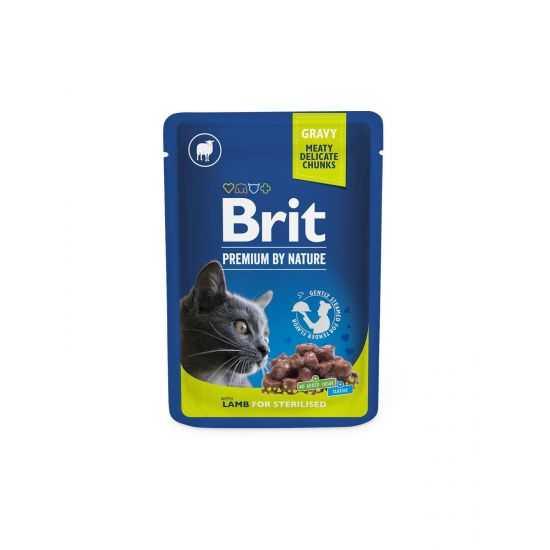 Brit Premium konservai katėms Lamb...