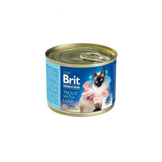 Brit Premium by Nature Trout with...