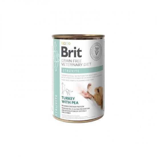 Brit GF Veterinary Diets Struvite konservai šunims, 400g