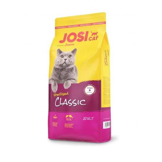 Josera Classic sausas maistas sterilizuotoms katėms 10kg