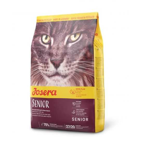 Josera Senior sausas maistas vyresnio amžiaus katėms 10kg