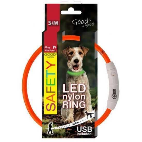 Šviečiantis antkaklis šunims LED...
