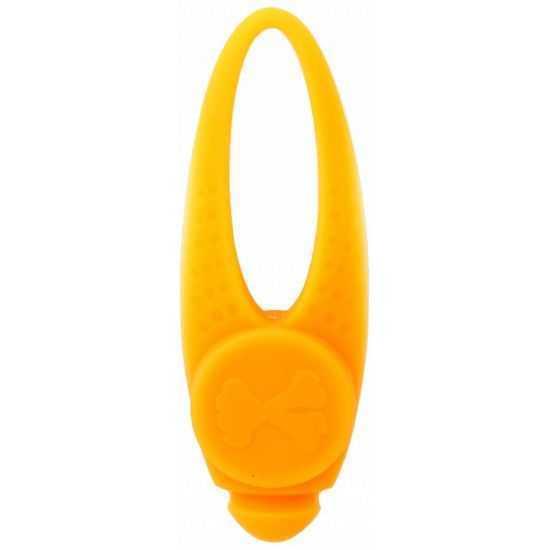 Šviečiantis antkaklio LED pakabukas, geltonas