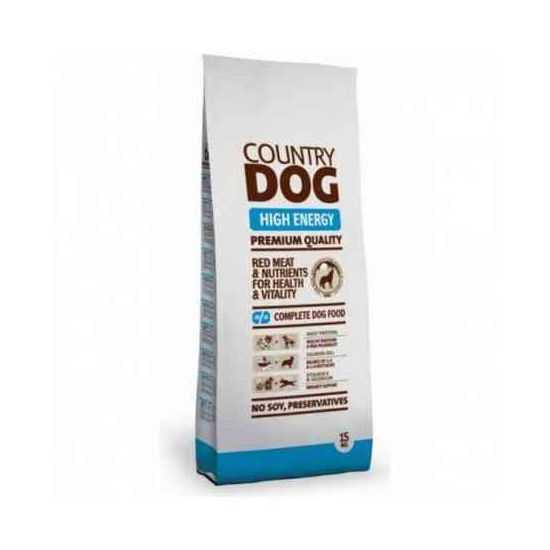 Country Dog High Energy sausas maistas šunims 15kg