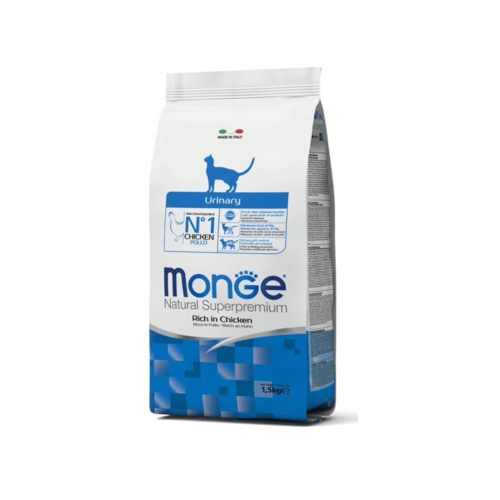 MONGE Urinary sausas maistas katėms