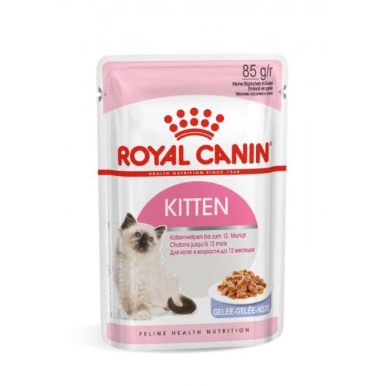 Royal Canin Kitten konservai drebučiuose jaunoms katėms, 85 gr.