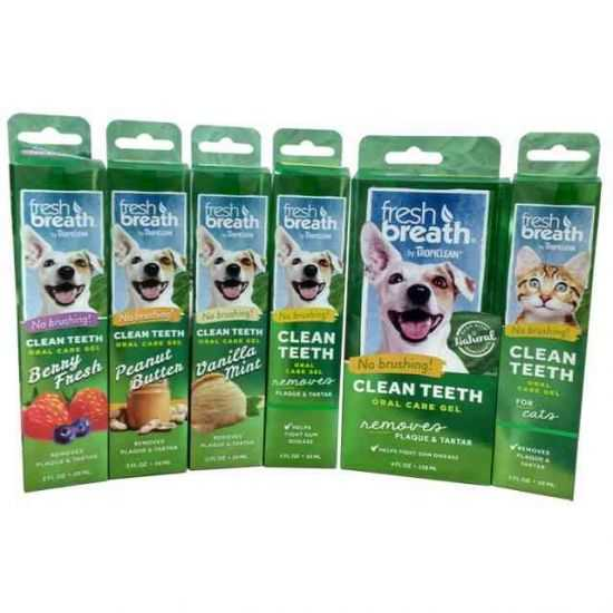 TROPICLEAN FRESH BREATH CLEAN TEETH GELIS ĮV. SKONIŲ ŠUNIMS