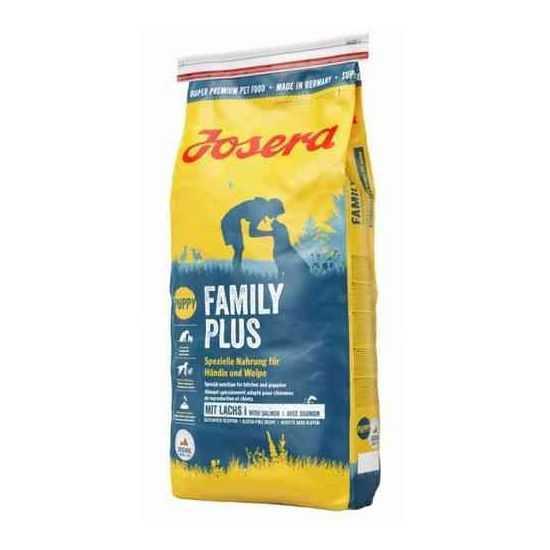 Josera Family Plus sausas maistas jauniems šunims ir žindančioms kalėms 15kg