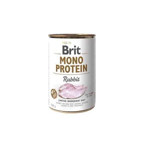 Brit Care Mono Protein Rabbit konservai šunims 400gr