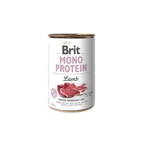 Brit Care Mono Protein Lamb konservai su ėriena šunims 400gr