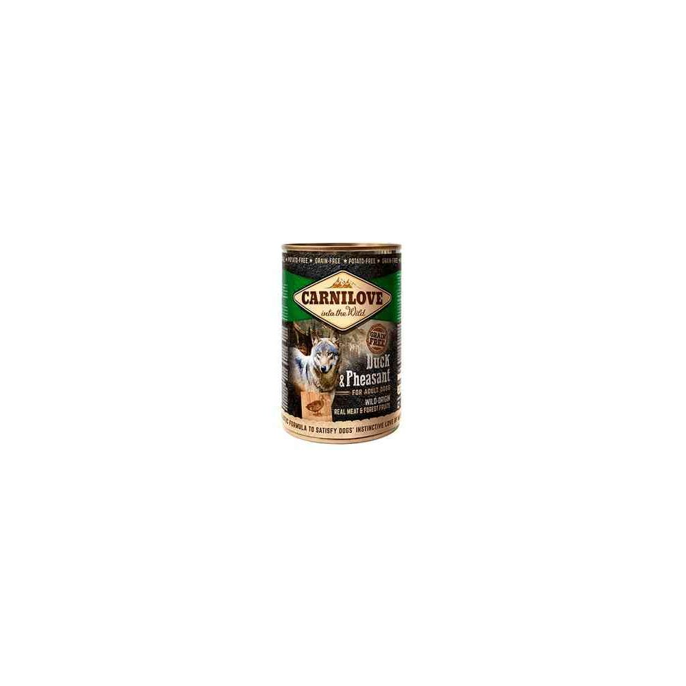 Carni Love Wild Meat Duck & Pheasant konservai šunims 400gr