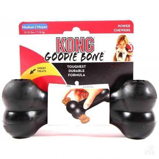 KONG Extreme Goodie Bone patvarus žaislas šunims