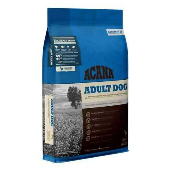Acana Adult Dog begrūdis sausas maistas suaugusiems šunims 11.4kg
