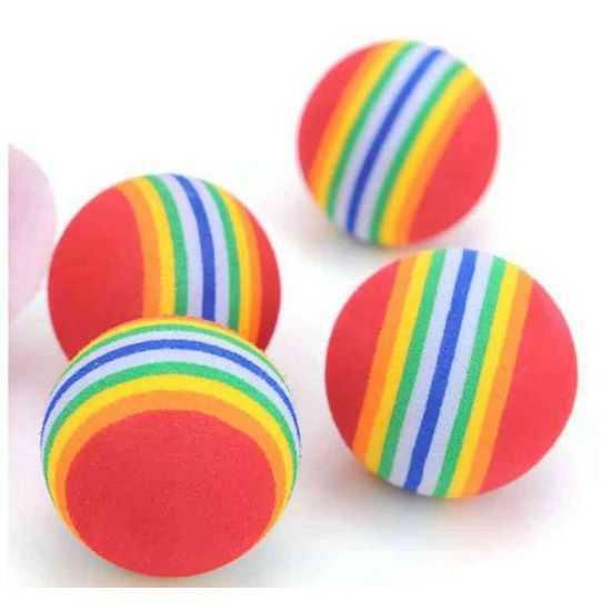 Žaislas katei - kamuoliukas 3,5cm